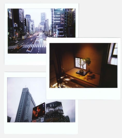 "Polaroids from ""A Year in an Instant"", a project by Nuno Coelho Santos"